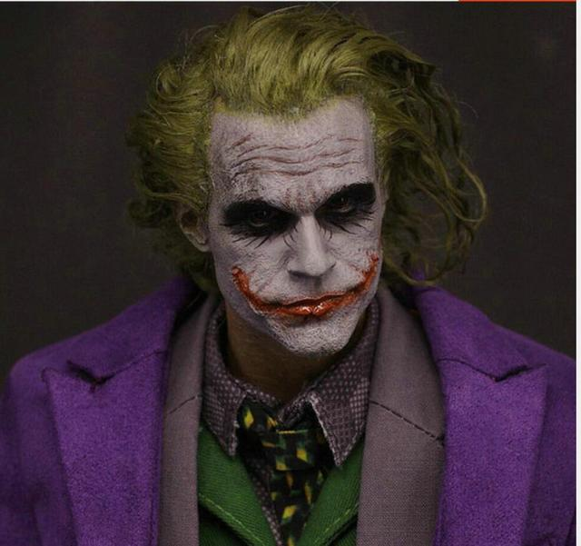 Us 7399 Neue 16 Batman Joker Haartransplantation Headplay Heath Ledger Leiter Sculpt In Neue 16 Batman Joker Haartransplantation Headplay Heath