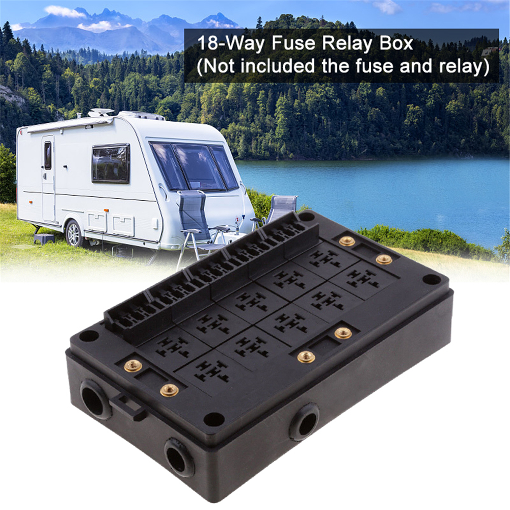 1x fuse relay holder with case [ 1001 x 1001 Pixel ]