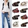 Cuero genuino de Las Mujeres Cinturones de Moda Cinturones Cintos Cinturon Exquisito Diseño en piel de Vaca de La Vendimia Del Envío Libre
