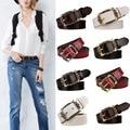 Mulheres Cintos de Moda Cintos de Couro genuíno Cintos Cowskin Cinturon Vintage Design Requintado Frete Grátis