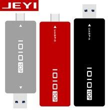 JEYI IOIO TYPE-C USB3.1 USB3.0 m.2 NGFF SSD Mobile Drive через VLI716 Поддержка отделкой SATA3 6 Гбит/с UASP Алюминий SSD HDD Encl