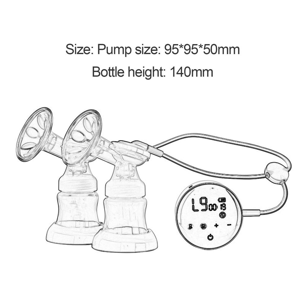 Sobababy Double Electric Breast Pump 5