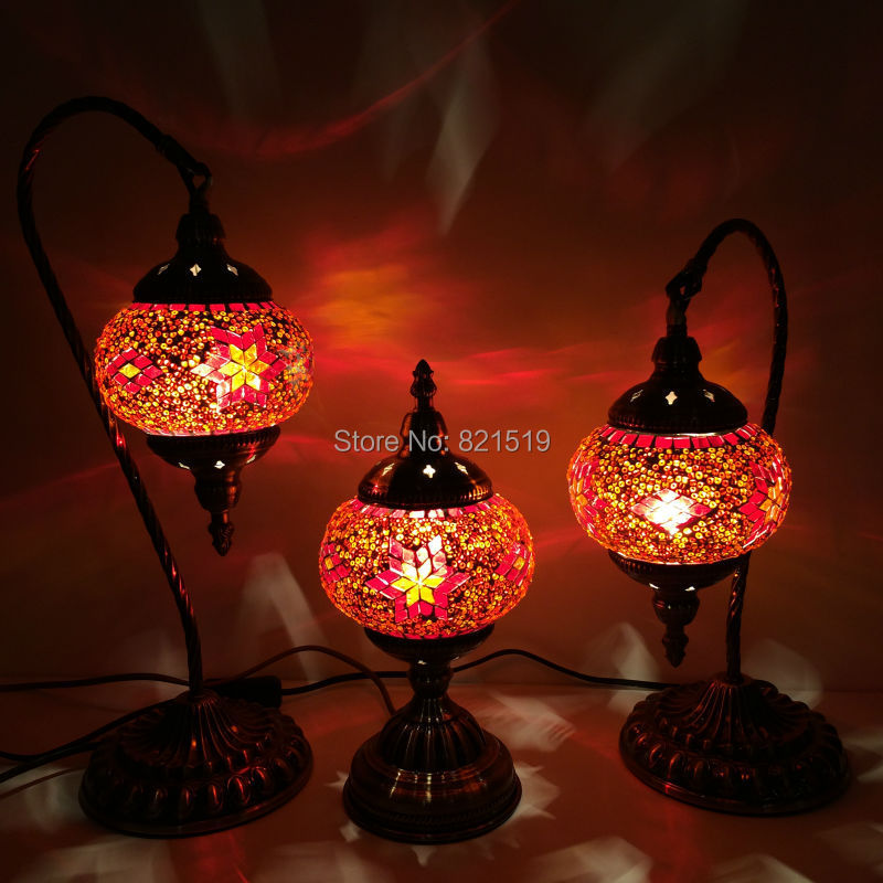 Wholesale Made in China ART Turkish Handicraft mosaic Table Lamps ...