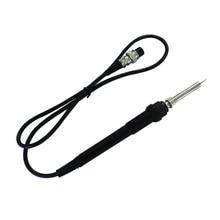 Оригинальная Высококачественная железная ручка электрического паяльника для SMD SAIKE паяльная станция 852D+/898D сварочный инструмент для ремонта