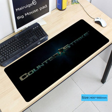 Mairuige 900*400*3mm Counter Strike Large Gaming Rubbe Mouse Pad Computer Gamer Mice Play Mat Carpet For Dota 2 LOL Locking Edge