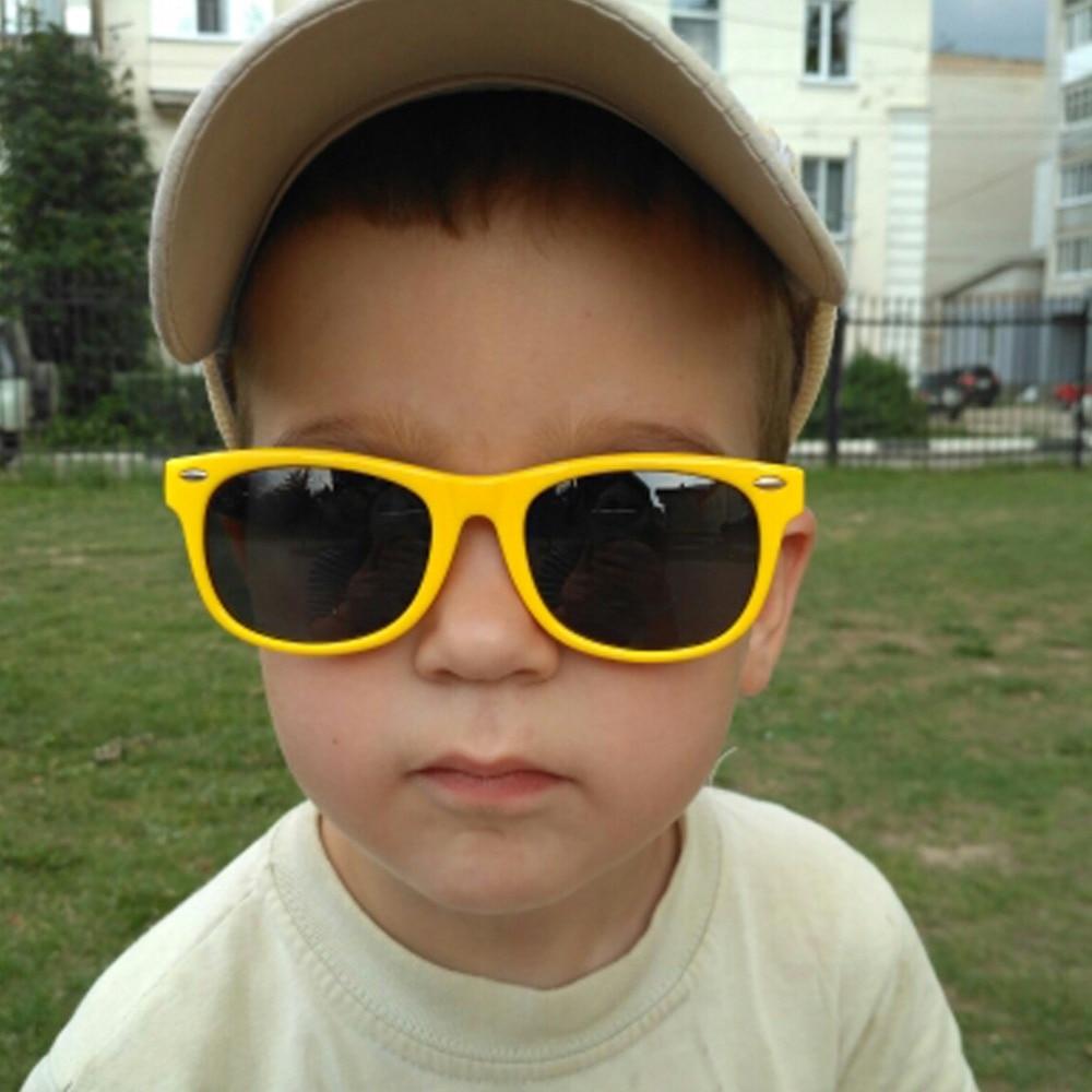 Flexible Nette Kinder Sonnenbrille Silikon Polarisierte Katzenauge-stein-bienen-halskette Augen Kinder Glassess Uv400 Oculos Infantil Mädchen Brille Boye Brillen GüNstige VerkäUfe Jungen Zubehör