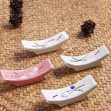 Керамическая Снежинка японская кухня палочки для еды Подушка палочки для еды отдых палочки для еды держатель 1 шт