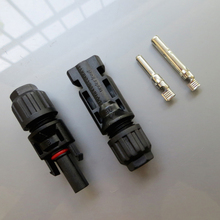 1Pairs x MC4 Connector male and female, MC4 Solar system Connector