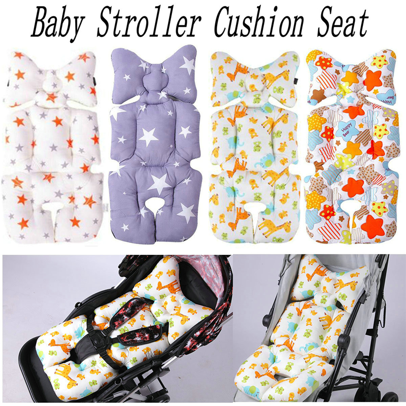 Newborn Baby Car Seat Warm Stroller Liner Cushion Mat Pushchair Cotton Pad Cover