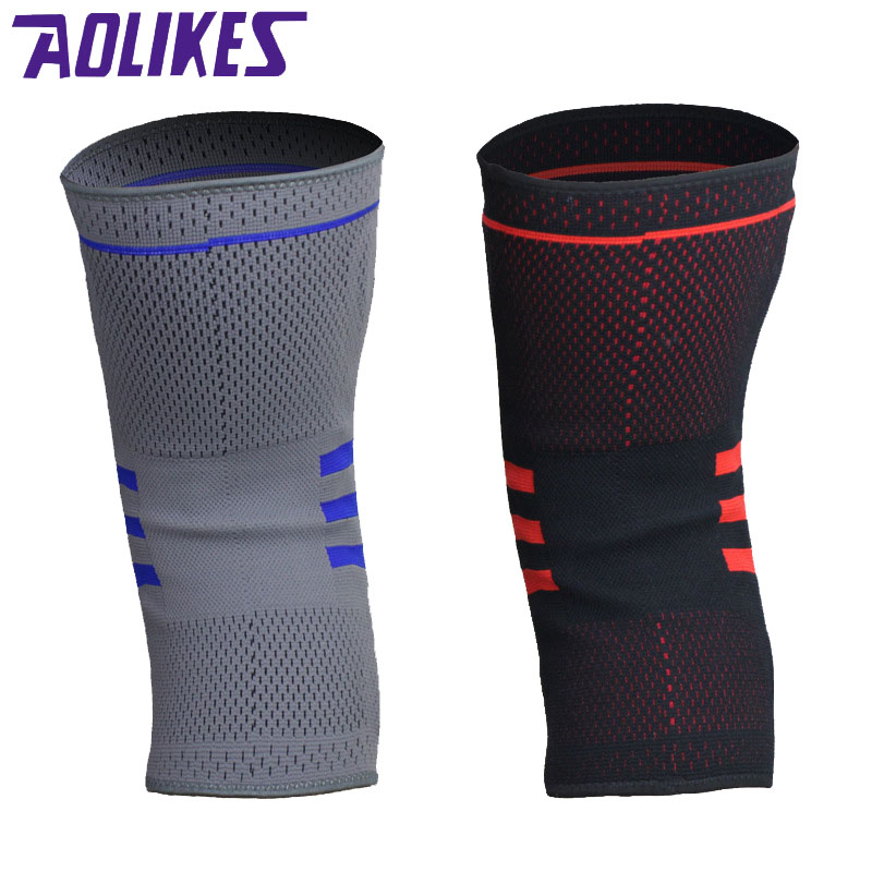 AOLIKES 1 Pcs Basketball Knee Brace Compression Knee Support Sleeve - Sportswear and Accessories - Photo 3