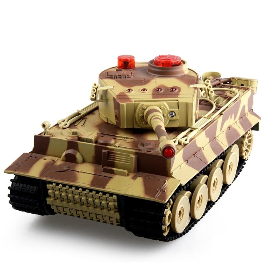 1/24 RC réservoir chenille IR télécommande jouets Simulation infrarouge canon Emmagee RC combat bataille réservoir jouet RC voiture enfants cadeaux