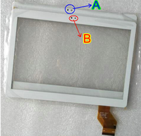 Original New BXW4802D B 2 5mm Edge Touch Screen China I9500 S4 SmartPhone Touch Panel Digitizer