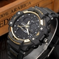 2016 Новый мужская Цифровой СВЕТОДИОДНЫЙ Часы Спорт Военная Открытый Часы Плавание Часы Вождения 50 М Waterpoof лучший бренд класса люкс