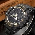 2016 Nuevos hombres de Natación Reloj Digital LED Relojes Militares Deportes Al Aire Libre Reloj 50 M Waterpoof de lujo superior de la marca de Conducción