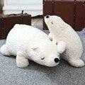 70 см Белый Медведь Тема Ребенок Дети Ребенок Спокойно Спать Плюшевые Куклы медведь Мягкая Успокоить Ребенка Спать Кровать Автокресло Подушки Спальня Вещи
