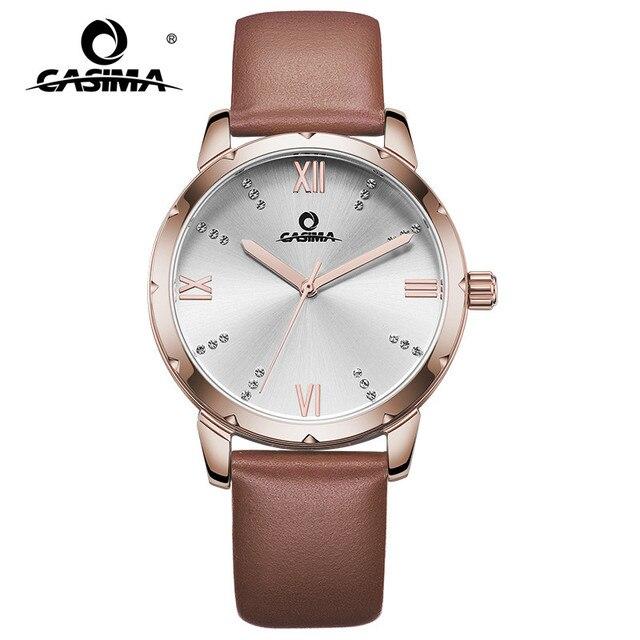 New Luxury Brand Women Bracelet Watches Fashion Simple Ladies Quartz Watch Leath