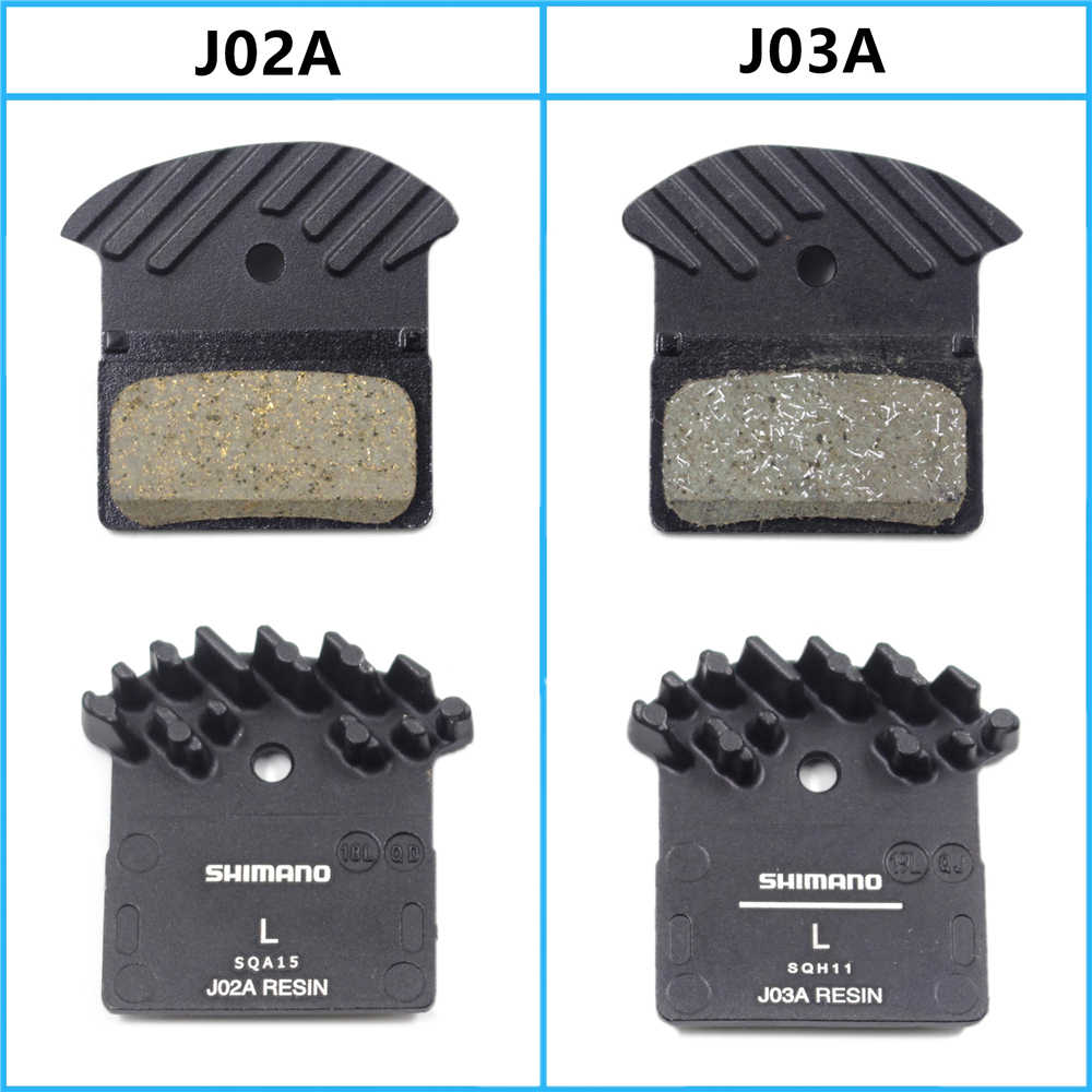 2Pair For Shimano J03A Resin Cooling Fin Ice Tech Disc Brake Pads MTB XT XTR SLX