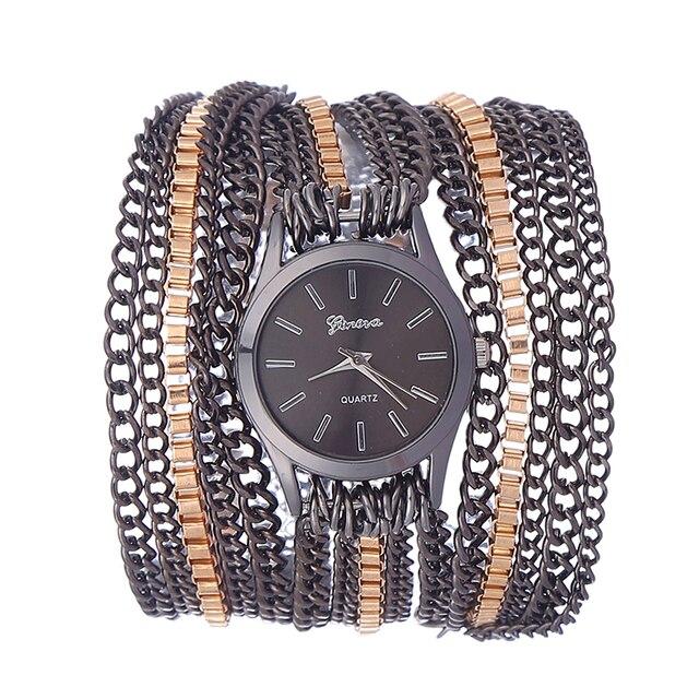 2017 Новая Мода Женщины Rhinestone Часы Полный Стали Золото Браслет Кварцевые Женщины Одеваются Часы Дамы Наручные Часы с 3 Цветов