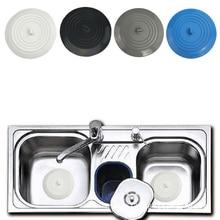 Silicone Sink Plug Bathroom Kitchen Shower Anti Odor Shield Wash Sinks Bath Tubs Drain Hair Stopper Cover Filter Strainer