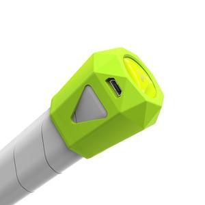 Image 5 - Coollang Sensor inteligente para raqueta de tenis, Analizador de movimientos con Bluetooth 4,0, Compatible con teléfono inteligente Android IOS