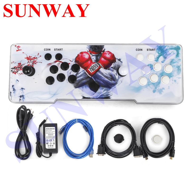 Arcade Video Game Console 1388 Retro Games 1299 in 1 Box 5s Plus Arcade Machine Double Arcade Joystick with VGA and HDMI  Output
