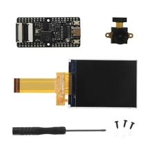 Sipeed maix bit RISC V Placa de desarrollo de CPU de 64 bits de doble núcleo, Mini PC + lente grande + Kit de pantalla de visualización