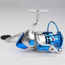 2017 Latest 6BB Baitcasting reel carp Carretilha Pescado ice fishing reels 1000 -7000 spinning reel free shipping Fishing wheel