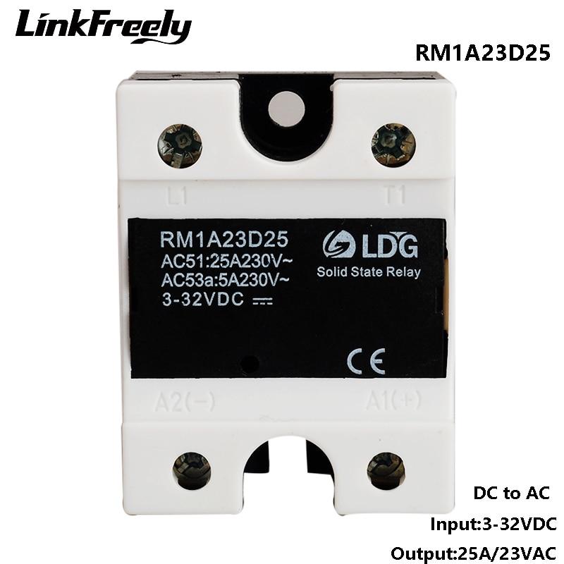 RM1A23D25 SCR 1-Phase AC Solid State Relay 220V,3V 3.3V 5V 12V 24V 32V DC Input 25A /24-280V AC Output,SSR Relay Switch BoardRM1A23D25 SCR 1-Phase AC Solid State Relay 220V,3V 3.3V 5V 12V 24V 32V DC Input 25A /24-280V AC Output,SSR Relay Switch Board