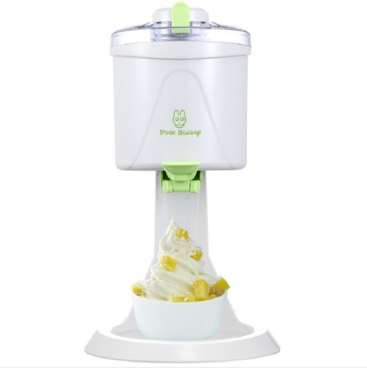 Children's ice cream maker Fully automatic household mini ice cream maker DIY homemade children's ice cream machine