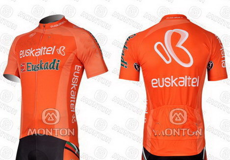 b1b223d34 2012 2013 Euskaltel Euskadi Team Men s Only Cycling Jersey Short Sleeve Bicycle  Clothing Quick Dry Riding Bike Ropa Ciclismo-in Cycling Jerseys from Sports  ...