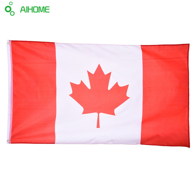 canadian flag festival party home decor office flags banner for