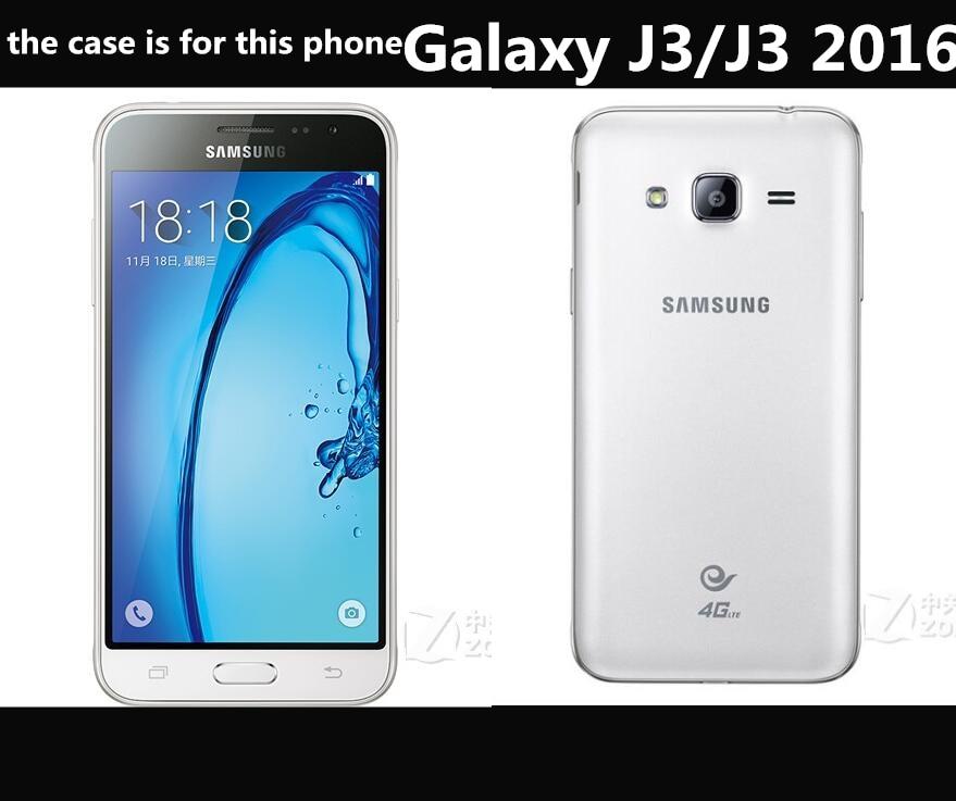 Para Fundas Samsung J3 Funda con tapa de alta calidad Funda de cuero - Accesorios y repuestos para celulares - foto 2