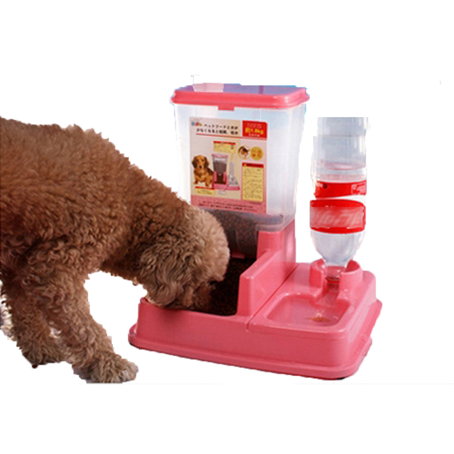 automatic dispenser feeders pets dp leshp feeder xaha programmable com food pet dog amazon cat
