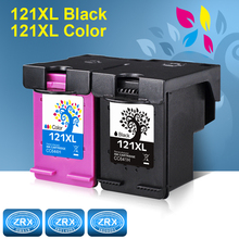 2pcs Ink Cartridge for HP 121XL HP121XL CC641HE CC644HE for HP Deskjet F4283 F2483 F2423 F4583 ENVY 110 PHOTOSMART C4783 C4683