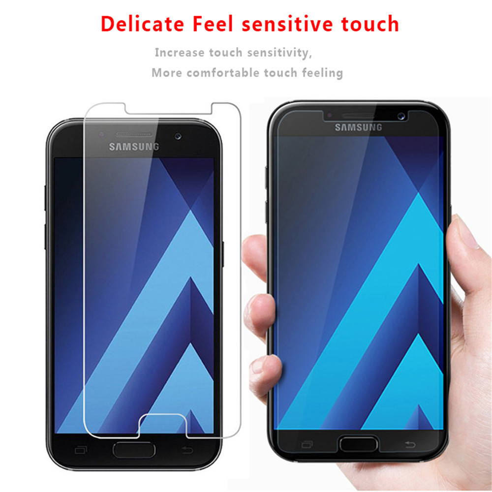 Image 4 - 2.5D Tempered Glass For Samsung Galaxy J1 J120F 2016 SM J120F Protective Film Mobile Phone for Samsung J 120F 2016 J120F J120-in Phone Screen Protectors from Cellphones & Telecommunications