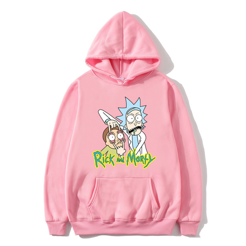 2019 Rick And Morty Hoodies Anime Fleece Unisex Sweatshirt Men Brand Hoodie Comic Casual Tracksuit Pullover DropShip Streetwear
