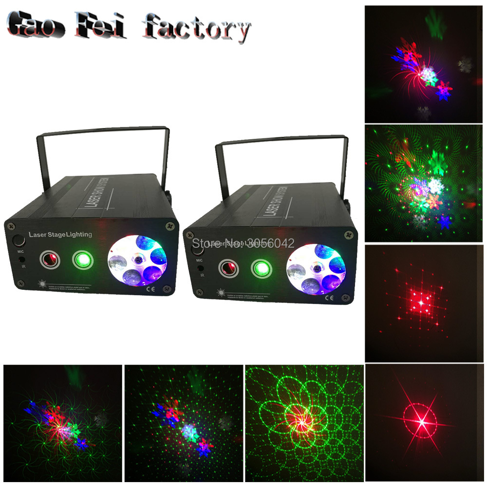 2pcs/lot mini Red Blue Moving Outdoor Laser Premium Outdoor Garden Decoration Laser Spotlight Light Star 2pcs blue