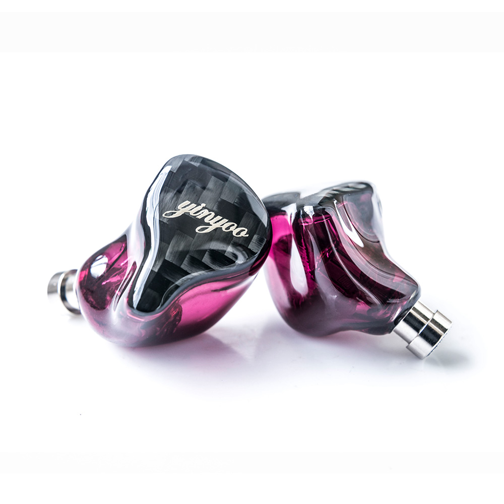 Yinyoo HQ8 8BA in Ear Earphone Custom Made Balanced Armature Around Ear Earphone Headset Earbuds With MMCX Same as QDC Shell