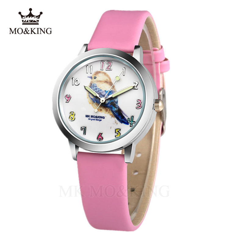 Little Bird 2019 New Fashion Children's Watches 3D Bird Cartoon Casual Quartz Sports Boy Clock Girl Watch Reloj Saat
