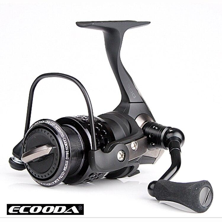 frete gratis black hawk ecooda segunda geracao de metal corpo fiacao reell isca carretel de pesca