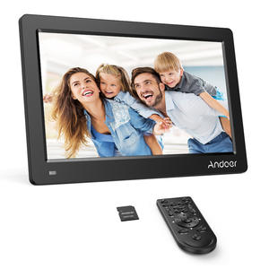 Andoer 1920--1080 Digital-Photo-Picture-Frame Ips-Screen FHD MP3 8GB for Mp3/video-Player