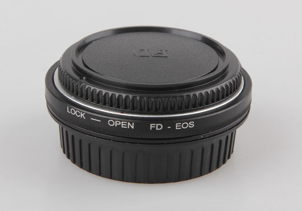 Fd lente para EOS EF corpo adaptador de montagem com vidro óptico foco infinito 450D 50D 5D 500D 550D 600D 650D 700D FD-EOS