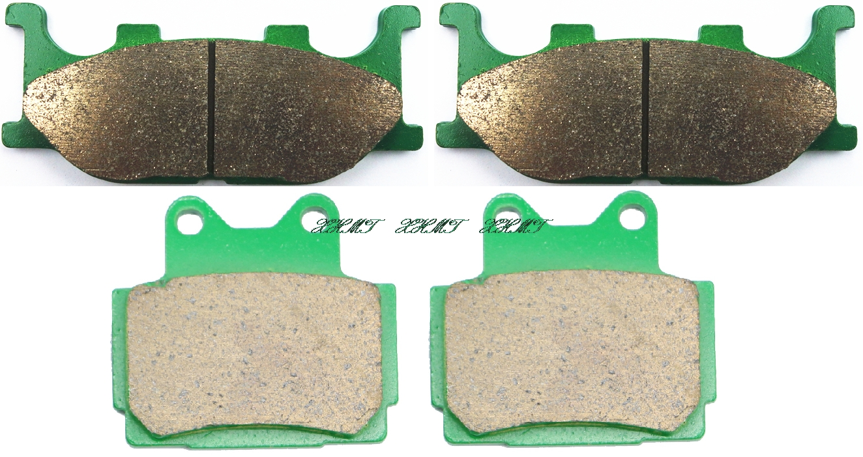 Brake Pad Set for YAMAHA XJ400 XJ 400 DIVERSION - R 1991 1992 1993 1994 / XJ600 XJ600S XJ 600 S 1998 1999 2000 2001 2002 2003