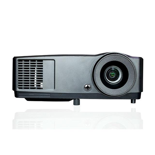 Alto Brillante 7000 Lúmenes Proyector DLP 1024*768 Brillante Habitación Utilizada Casa/Negocio Proyector Con HDMI A VGA convertidor Libre Del Regalo