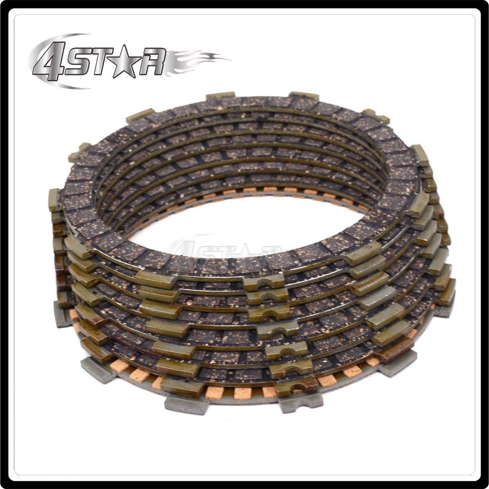 Motorcycle Clutch Plate Disc Set Friction For <font><b>SUZUKI</b></font> <font><b>GSX600F</b></font> GSXF600 GSX750F GSXF750 1998 <font><b>1999</b></font> 2000 2001 2002 2003 2004 2005 06 image