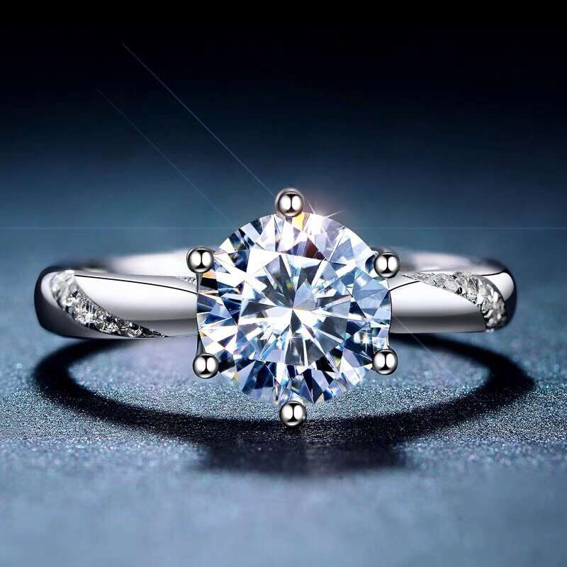 Moissanite,carats Super Hot Selling, Comparable To Diamonds, Exquisite Craftsmanship