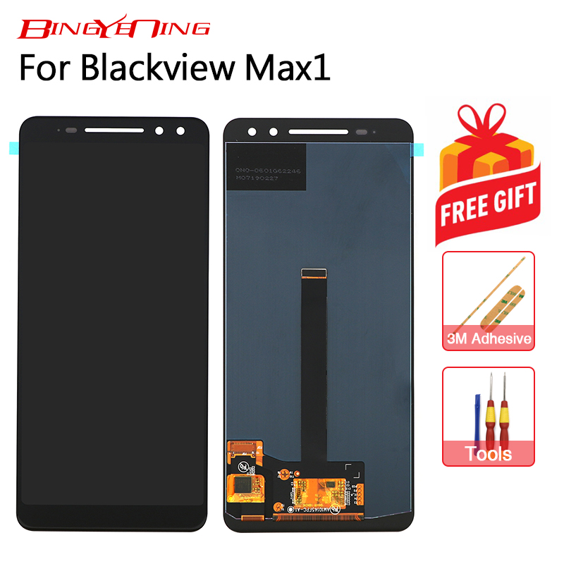 BingYeNing New Original For Blackview Max 1 Touch Screen LCD Display Assembly Replacement