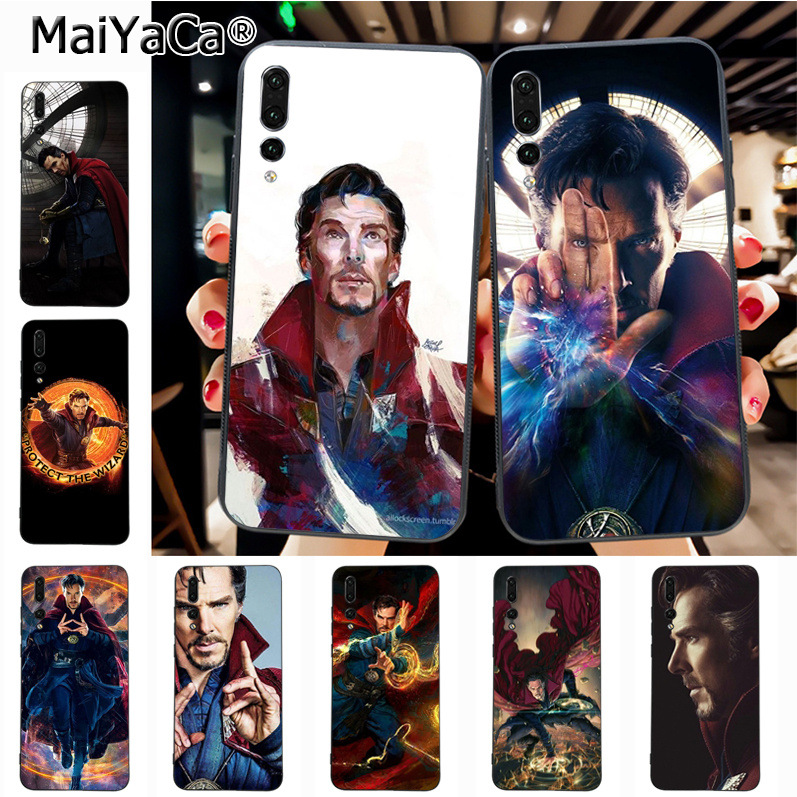 Rational Maiyaca Doctor Strange Marvel Avengers League New Luxury Fashion Cell Phone Case For Huawei P20 P20 Pro Honor9 Mate10 Case Bright In Colour Cellphones & Telecommunications Half-wrapped Case