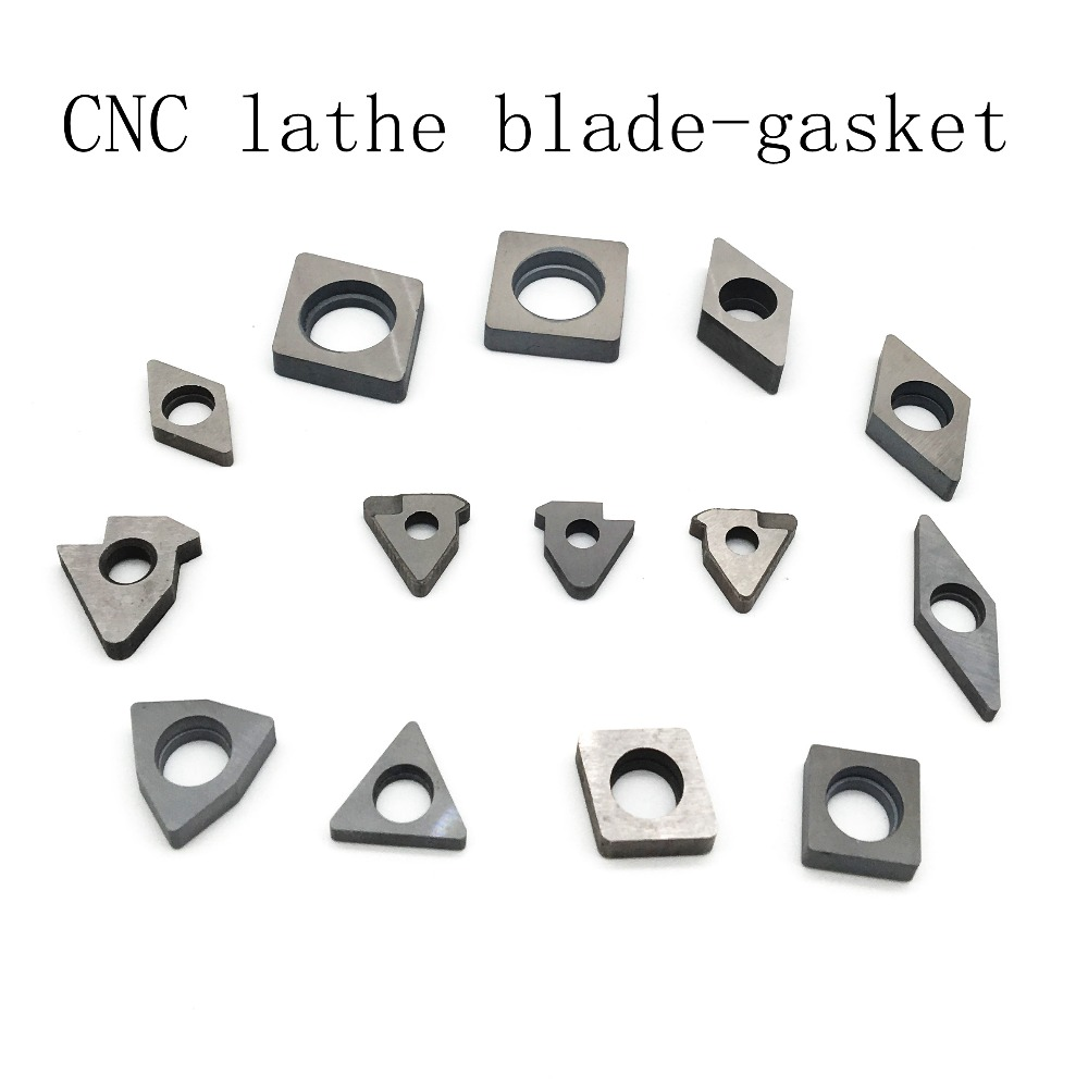 CNC Blade 1604 0804 0702 0603 1204 1103 Lathe Cutting Parts Alloy Blade Gasket Tool Bar Special Accessory Blade Base in Turning Tool from Tools