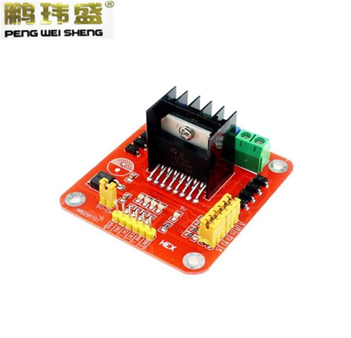 L298 module l298n dual bridge dc stepper motor driver Arduino motor control board
